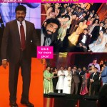 SIIMA Awards 2016: Chiranjeevi felicitated in a grand style as the megastar takes selfie with Allu Arjun, Rana Daggubati, Shruti Haasan and others!
