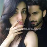 This picture of  Mandana Karimi flaunting her engagement ring with her fiance Gaurav Gupta is STUNNING