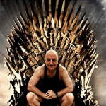 Someone photoshopped Anupam Kher on the Iron Throne and he is overjoyed