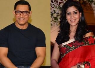 Aamir Khan praises Sakshi Tanwar as a 'one take artiste' at the poster launch of Dangal