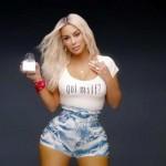 Kim Kardashian reveals the reason behind her tiny waist in Fergie's 'MILF$' video