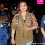 Rani Mukerji makes her first public appearance post birth of Adira and looks unrecognisable - view HQ pics