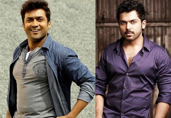 Why is 24 actor surya happy for his brother karthi bollywoodlife why is 24 actor surya happy for his brother karthi altavistaventures Images