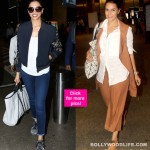 Deepika Padukone's all blue avatar at the airport is damn cool - View HQ Pics!