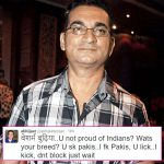 FIR filed against Abhijeet Bhattacharya for abusing journalist on Twitter