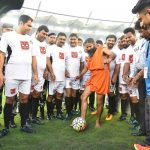 Pictures of Baba Ramdev playing football is what nightmares are made of!