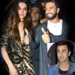 But look who's going home with the girl - says Ranveer Singh after partying with Deepika's ex Ranbir!