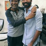 Rajinikanth and Dhanush have a picture perfect moment and we love it!
