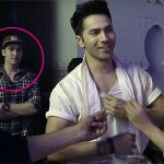 What is Govinda's son doing on the sets of Dishoom?