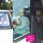 After Salman Khan's acquittal, sisters Alvira and Arpita along with ladylove Iulia Vantur spotted outside his residence - view HQ pics!