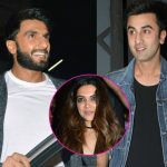 Ranbir Kapoor and Ranveer Singh RUBBISH rumours of cold war as they dance off at a party!