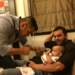 This pic of Salman Khan with baby Ahil proves that he is still in a Sultan hangover!