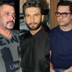 Salman Khan, Aamir Khan and Ranveer Singh receive a notice from the Central Board of Excise and Customs!