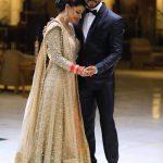 Newlywed Sambhavna Seth just could NOT stop blushing at her wedding reception - view EXCLUSIVE pics!