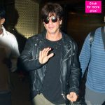 Shah Rukh Khan is back from his Germany trip looking really happy - View HQ pics!