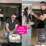 Sanjay Dutt celebrates his 57th  birthday with wife Maanyata Dutt, kids and the media- View HQ pics!
