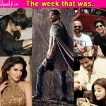 Shah Rukh Khan, Deepika Padukone - Ranveer Singh's PDA, Sunny Leone - meet the top 5 newsmakers of the week!