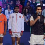 After Sunny Leone, Varun Dhawan sings the national anthem at a sporting event - view HQ pics