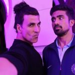 Akshay Kumar's perfect pout makes Saqib Saleem nervous - view pic!