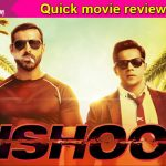 Dishoom quick movie review: Varun Dhawan and John Abraham's camaraderie makes for an entertaining first half!