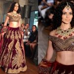 A gorgeous Kangana Ranaut walks the ramp in a lovely bridal wear - watch video!