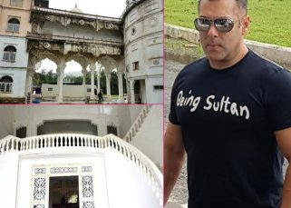 Salman Khan takes Sultan to the sets of Prem Ratan Dhan Payo - view INSIDE pics!