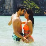 Katrina Kaif's sexy orange bikini and Sidharth Malhotra's HOT BOD set the frame on fire in this new still from Baar Baar Dekho