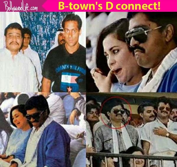 Salman Khan Anil Kapoor And Mandakini Dawood Ibrahim Bollywood Connect In Pics Video