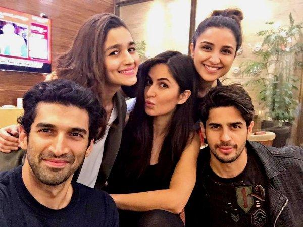 Katrina Kaif, Sidharth Malhotra, Alia Bhatt GOOF around ...