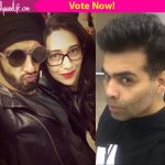 Karan Johar or Ranveer Singh- we just cannot decide who has the most PERFECT POUT!