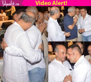 This video of Salman Khan CRYING at Rajjat Barjatya's funeral proves the actor's relationship with Barjatya family is more than professional!