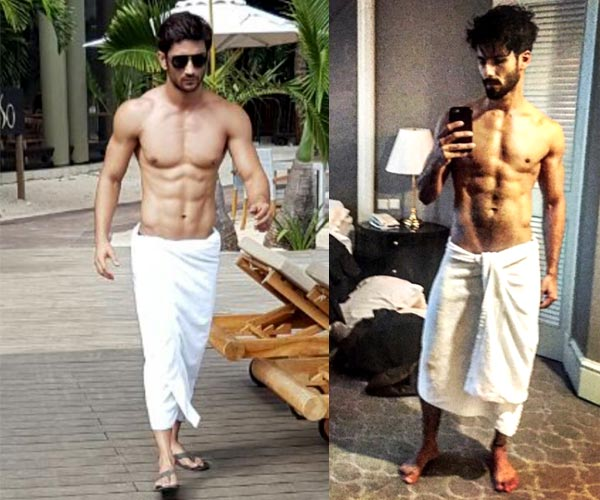 Sushant Singh Rajput or Shahid Kapoor - who looks SEXIER ...