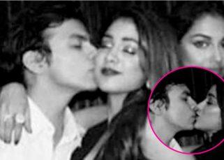 Awwdorable! Jhanvi Kapoor CLICKED kissing boyfriend Shikhar Pahariya at a party
