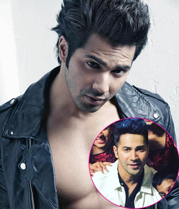 varun dhawan hair style images varun dhawan colours his hair blue and we don t how 5669