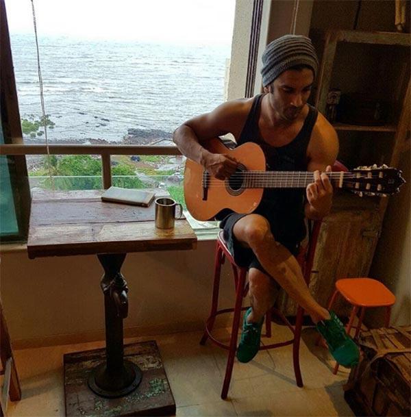 Sushant Singh Rajput S Latest Instagram Picture Is Going: Sushant Singh Rajput To Play A Singer In Takadum
