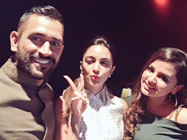 Image result for kiara advani and sakshi dhoni