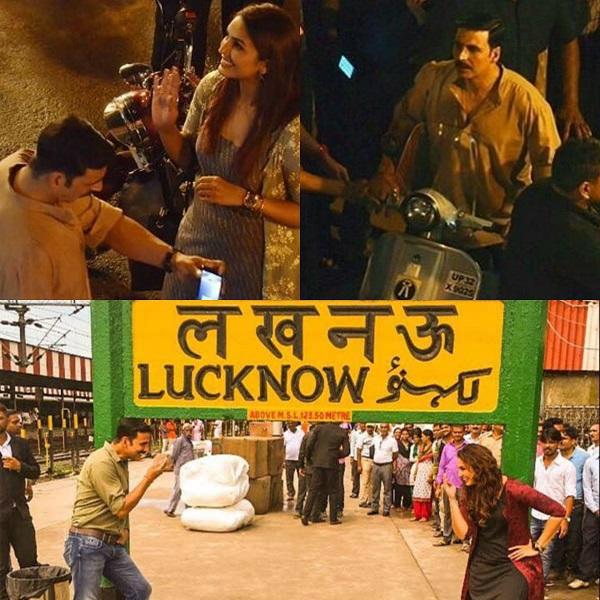 Avatar 2 Qureshi: Spotted: Akshay Kumar And Huma Qureshi Shooting For Jolly