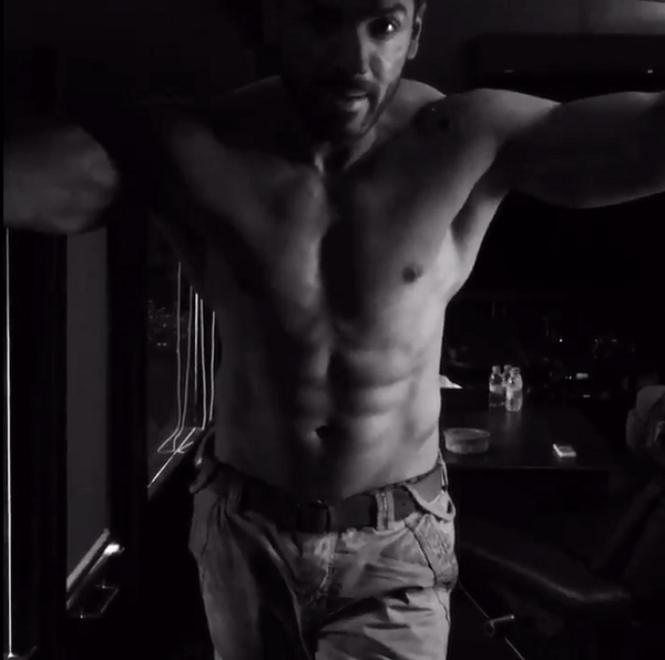 shirtless John Abraham raves about Force 2 and we can't stop staring ...