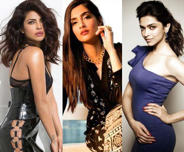 Deepika Padukone, Priyanka Chopra, Sonam Kapoor: Bollywood ...