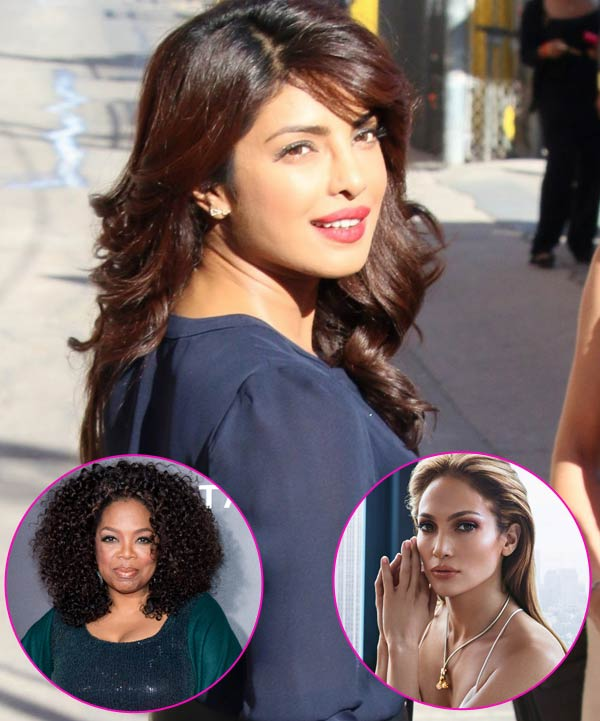 Priyanka Chopra Rubs Shoulders With Oprah Winfrey And Jennifer Lopez
