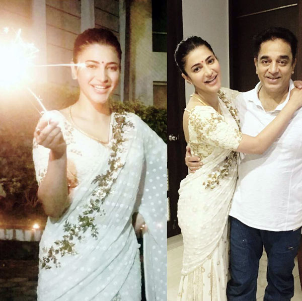 This Video Of Shruti Haasan Jamming With Father Kamal: Father-daughter Duo Kamal Haasan-Shruti Haasan Light Up