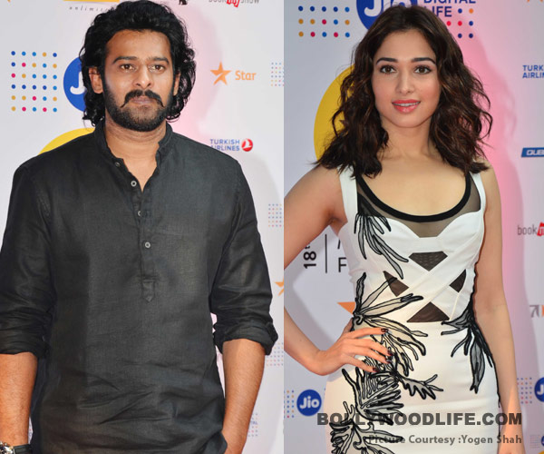 Baahubali 2 first look launch tamannaah bhatia and prabhas follow the black and white code