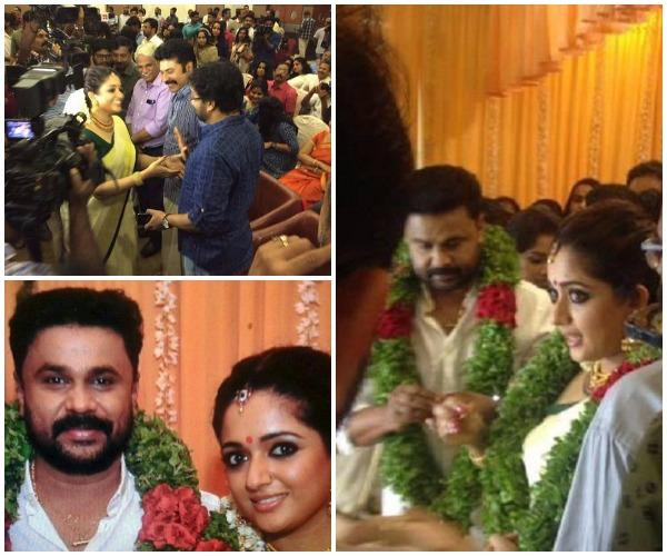 Dileep Kavya Madhavan Wedding Malayalam Stars Mammootty Jairam Ramesh Attend The Function