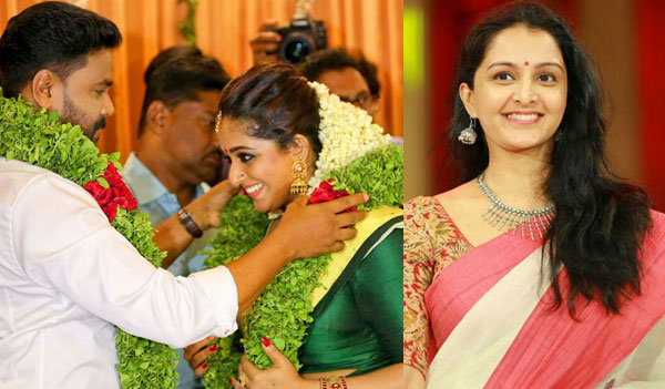 This Viral Video Of Manju Warrier Reacting To Dileep And Kavya Madhavan S Wedding Is Fake