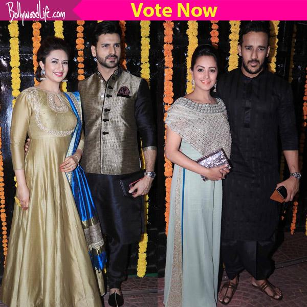 Divyanka Tripathi – Vivek Dahiya, Anita – Rohit, Suyyash – Kishwer – who was the most stylish couple at Ekta Kapoor's Diwali bash?