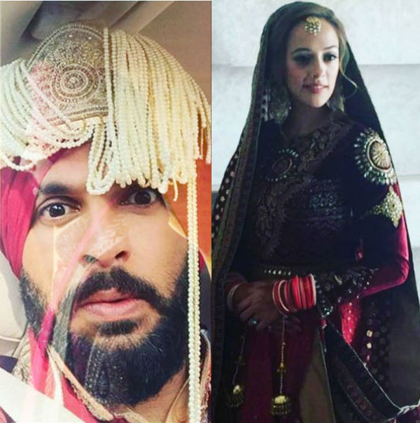 Yuvraj Singh looks SCARED before taking wedding vows with Hazel ...
