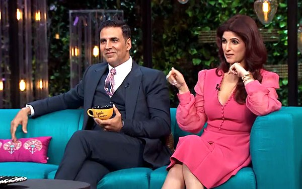 Twinkle Khanna Diamond Ring Koffee With Karan