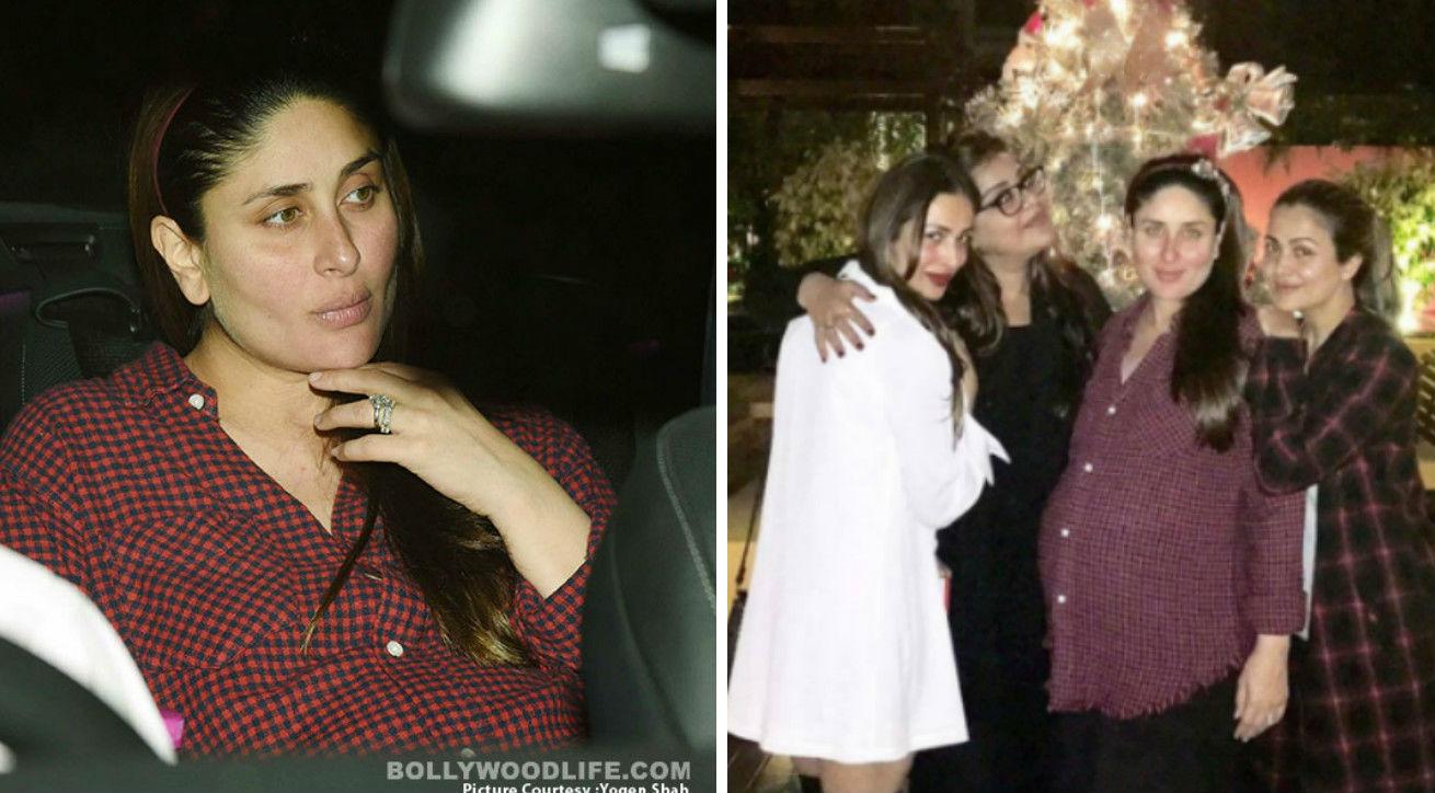 Pregnant Kareena Kapoor Khan Celebrates Christmas Just