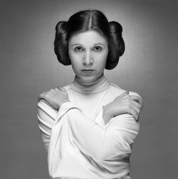 wars leia star Carrie fisher princess