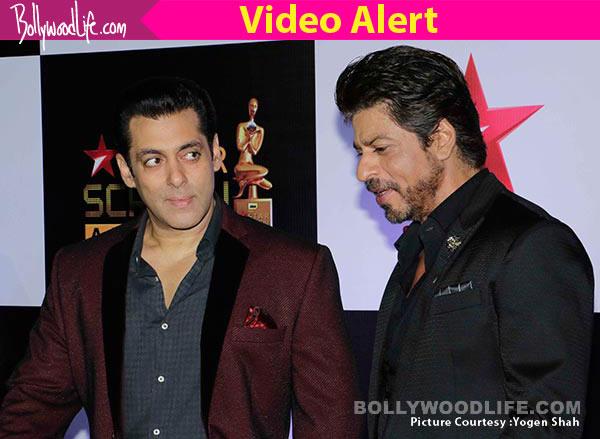 Shahrukh khan and salman khan fight